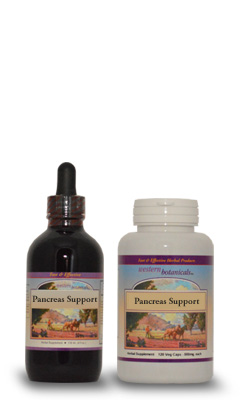 Pancreas Support Formula